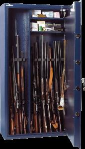 Chasseurs prot gez vos fusils dans une armoire forte - Armoire a fusil occasion ...