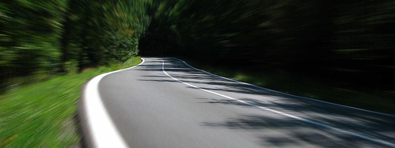 Une route de campagne