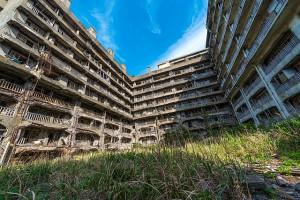 Hashima, l'île ville fantôme
