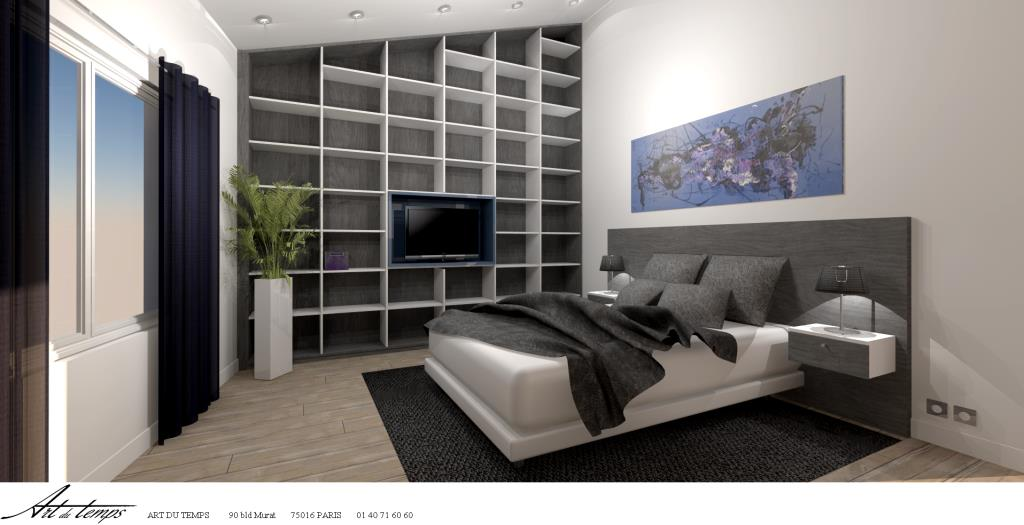 Id e d co une chambre design mag en ligne for Idee deco chambre contemporaine