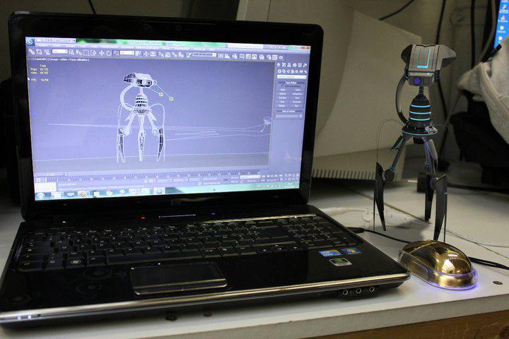Infographie 3D au Studio Mercier