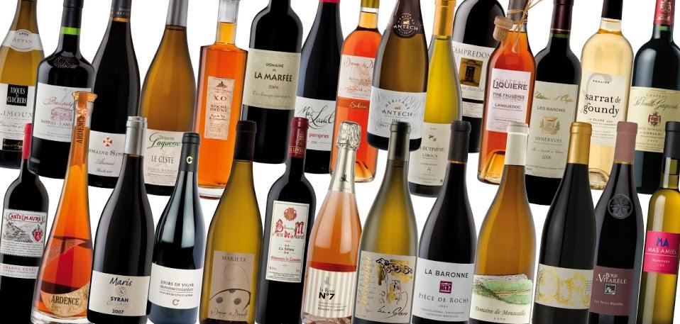 Sélection de vins du Languedoc-Roussillon vendus par Languedoc Wineshop